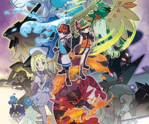 anime, nintendo, and pokemon image