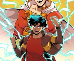 DC, shazam, and billy batson image
