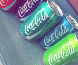 colors, coca cola, and drink image