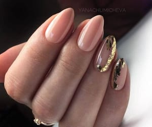 design, gold, and nail art image