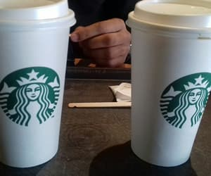 coffe, morning, and starbucks image