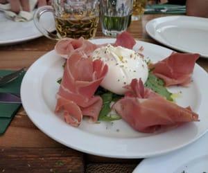 food, good, and ham image