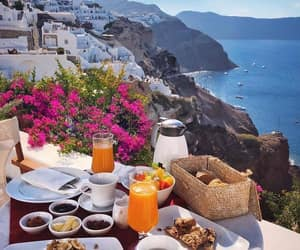 beautiful, summer, and breakfast image