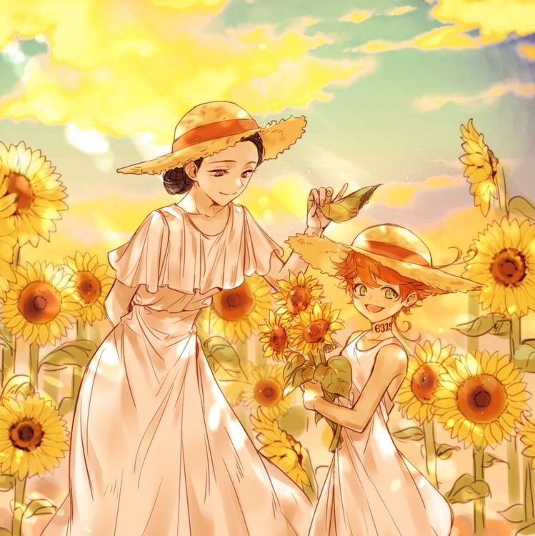 The Promised Neverland Shared By Roses Are Red