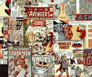 aesthetic, captain america, and comics image