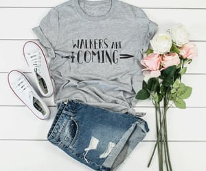 etsy, walkers, and funny shirt image