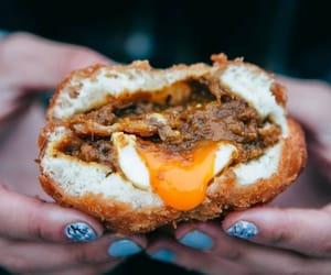bread, bun, and japanese food image