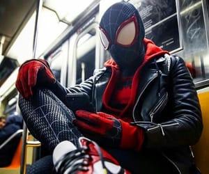 cosplay, spidey, and milesmorales image