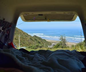 life, van, and views image
