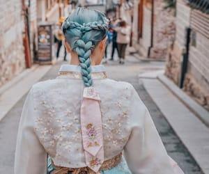 azul, hair, and belleza image