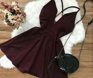 dress, woman, and fashion image