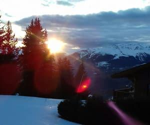 colour, ski, and nature image