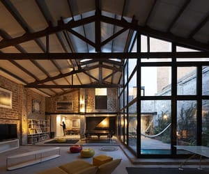 architecture, Barcelona, and brick image