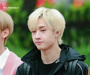 blonde hair, christopher chris, and 방찬 image