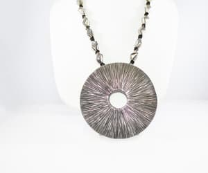 etsy, modernist necklace, and handmade image