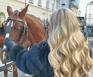 animals, blond, and beauty image