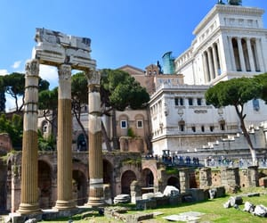 architecture, city, and rome image