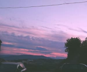 aesthetic, purple, and sky image