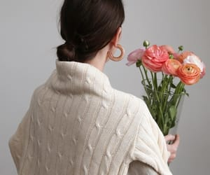 chic, fashion, and florals image