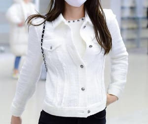 airport, white, and chanel image