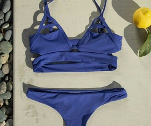 bikini, blue, and cut out image