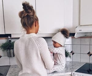 family, goals, and baby image