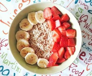 breakfast, oatmeal, and food image