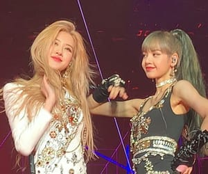 lisa, rose, and blackpink rose image
