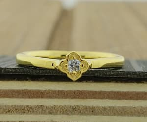 solitaire, zoime, and engagement ring image