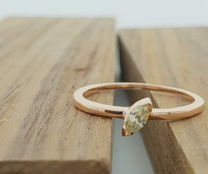 diamond ring, engagement ring, and gift for her image