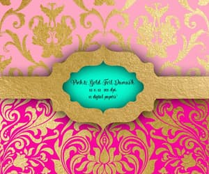 damask, etsy, and victorian image