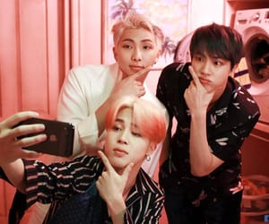 jin, rm, and taehyung image