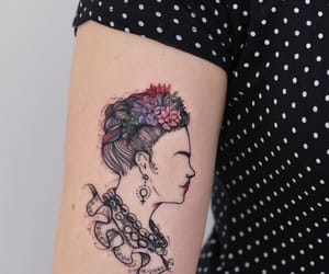 arm, line, and Tattoos image