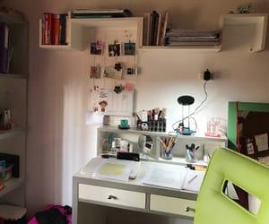 Estudio, escritorio, and orden image