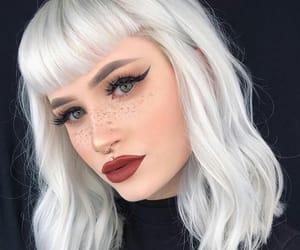 cabelo, girl, and maquiagem image