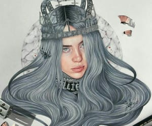 draw, drawing, and billie eilish image