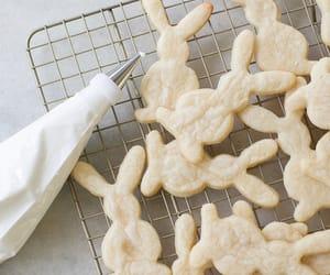 baking, bunnies, and Cookies image