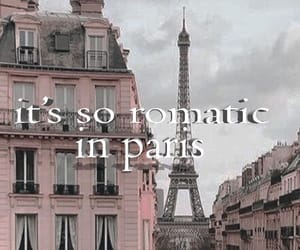 paris, aesthetic, and Lyrics image