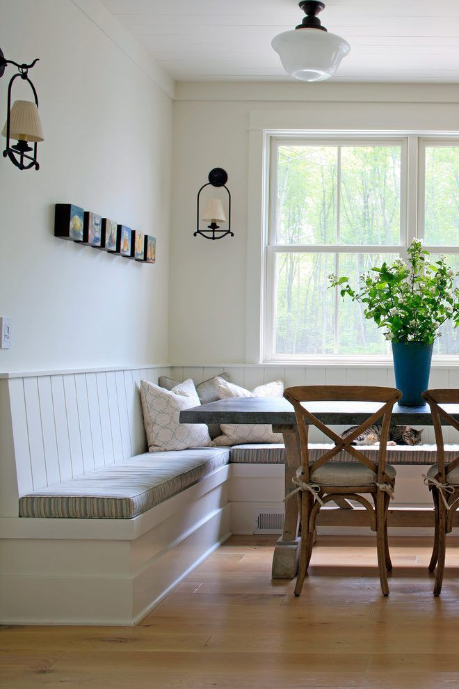 interior. Kitchen Bench Seating: Kitchen Table With Bench ...