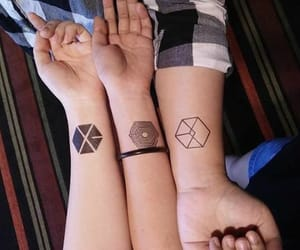 exo and tattoo image