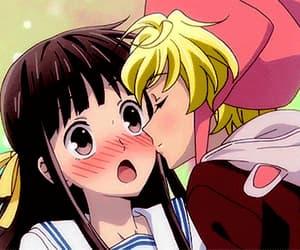 anime, gif, and momiji image