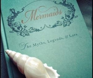 mermaid, book, and aesthetic image
