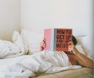 book, bed, and get up image