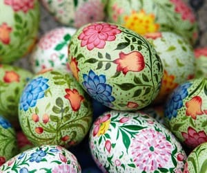 color, season, and easter image