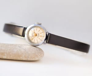 etsy, silver women watch, and limited edition image