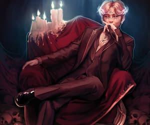 demon, fantasy, and bts image