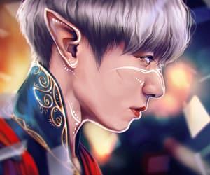 demon, fantasy, and prince image