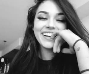 maggie lindemann, black and white, and fashion image