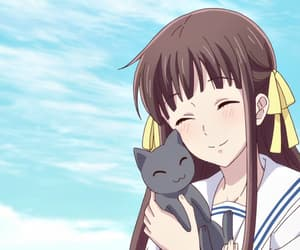 anime, shojo, and fruits basket image