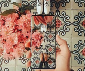 flowers, iphone, and girly image
